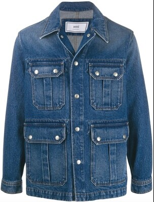 VESTE WORKER DENIM AMI