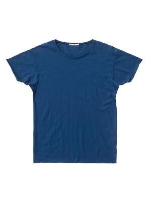 T-SHIRT ROGER SLUB Blue