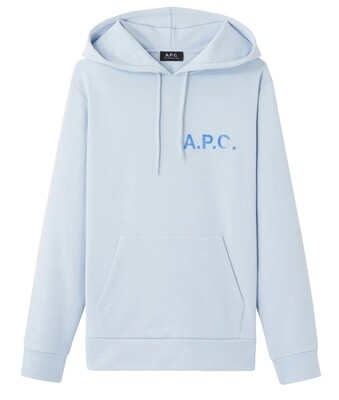 SWEAT A.P.C Stamp ciel