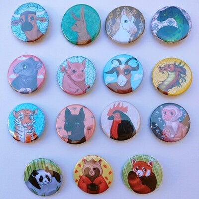 Badges 38mm