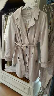 Mantel von Cream, Farbe: hellbeige