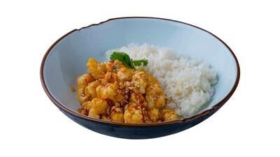 Рыба в медовом соусе с арахисом
