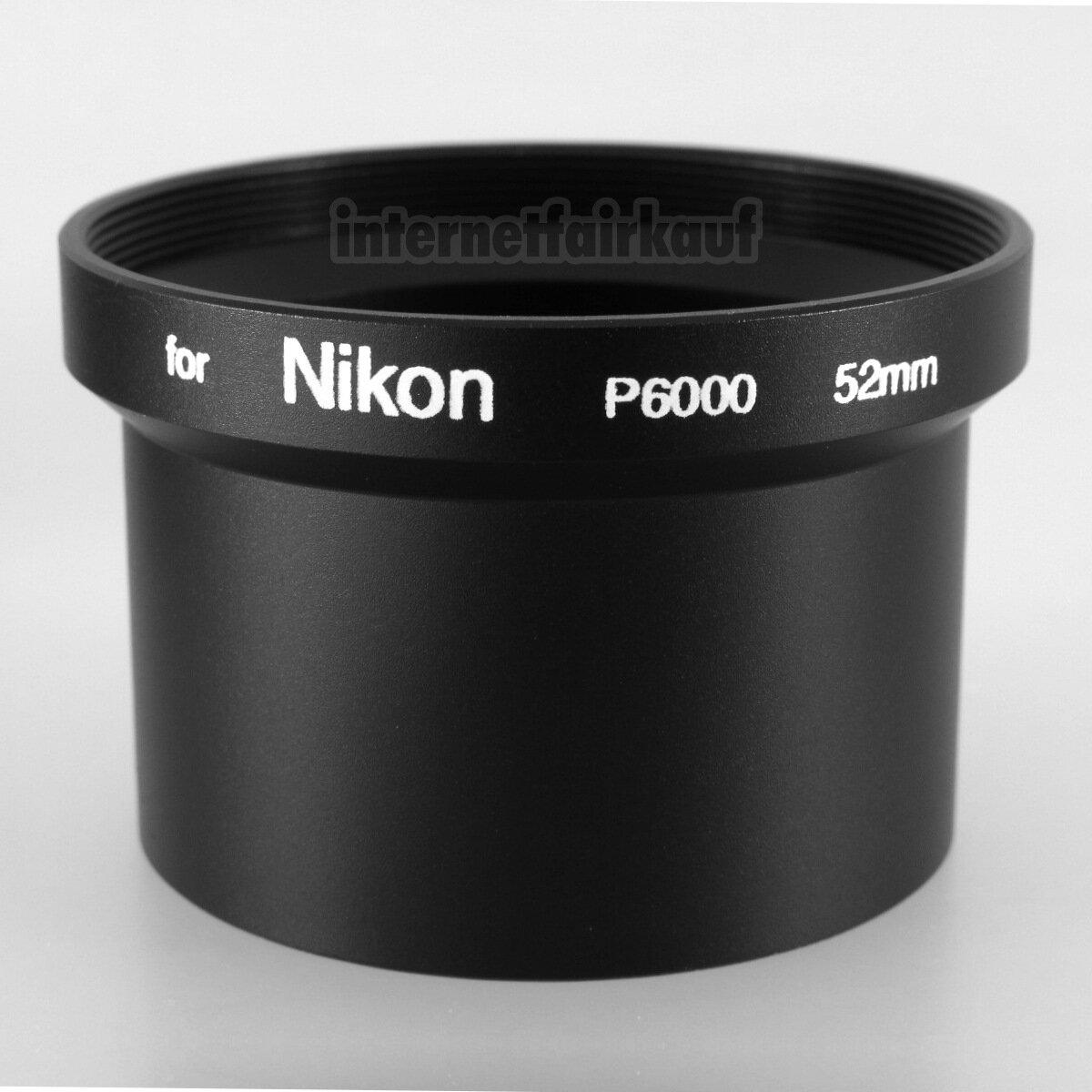 Adapter Tubus für Nikon Coolpix P6000