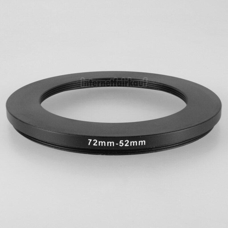 72-52mm Adapterring Filteradapter
