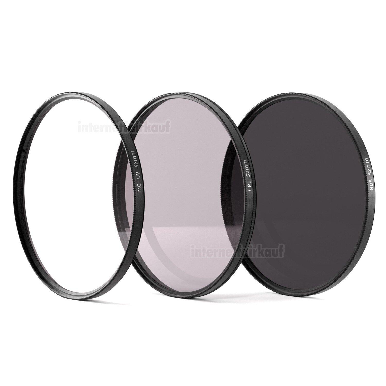 UV + Pol + ND8 Filter 52mm
