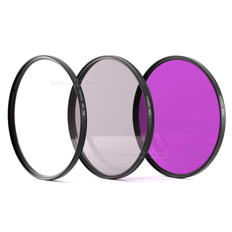 UV + Pol + FD Filter 52mm