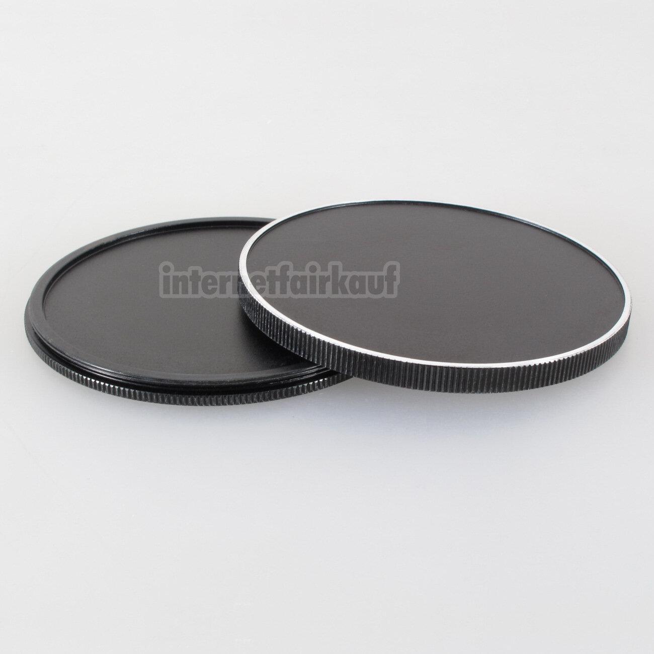 55mm Stack Caps Filterkappen Filter Container