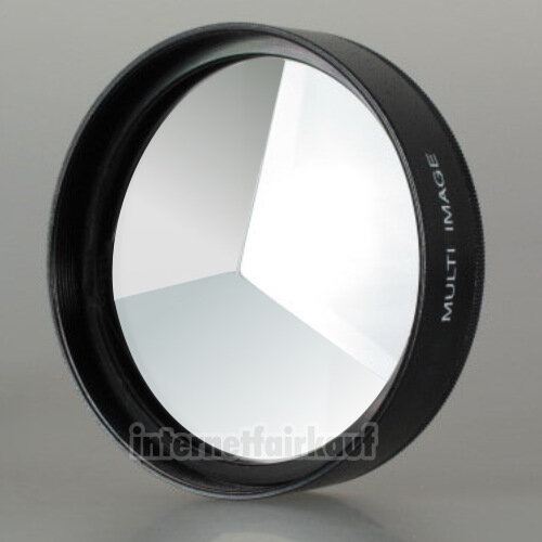 3-fach Multi Image Filter Prisma Tricklinse 67mm