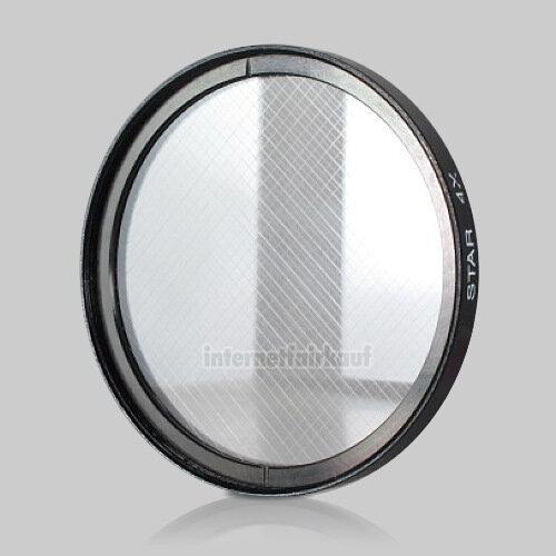 4x Sternfilter / 4-fach Cross Starlight Filter 55mm