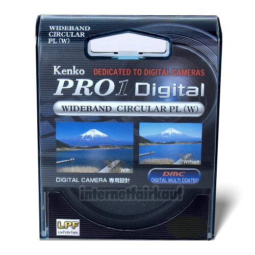 Kenko Pro1D Polfilter circular 58mm