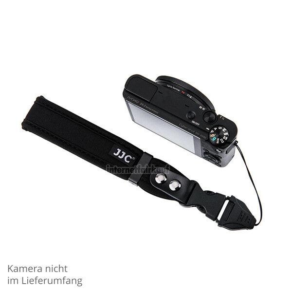 JJC ST-1MLBK - Handgelenk Schlaufe für Kameras mit kleinen Gurtösen
