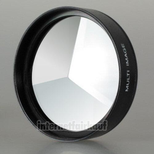 3-fach Multi Image Filter Prisma Tricklinse 82mm