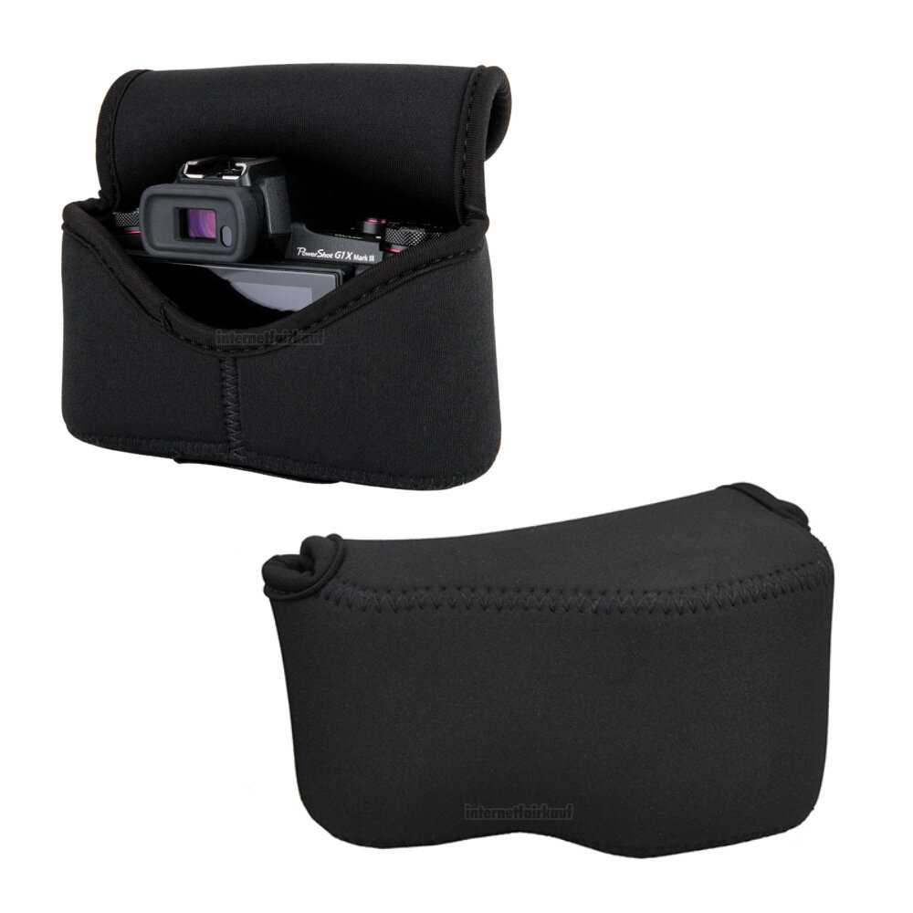 JJC OC-S1BK Neoprene Kameratasche, schwarz