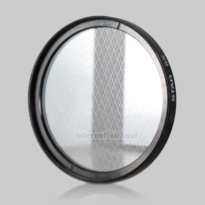 8x Sternfilter / 8-fach Cross Starlight Filter 62mm