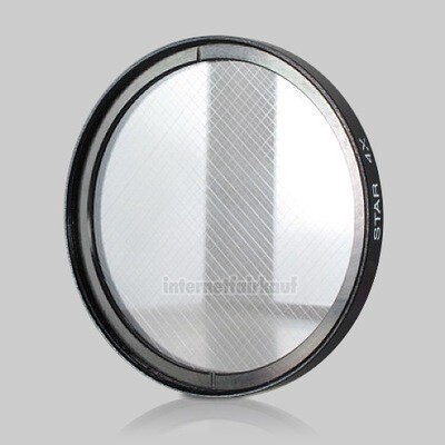 4x Sternfilter / 4-fach Cross Starlight Filter 58mm