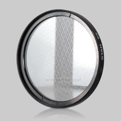 8x Sternfilter / 8-fach Cross Starlight Filter 58mm