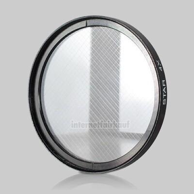 4x Sternfilter / 4-fach Cross Starlight Filter 49mm