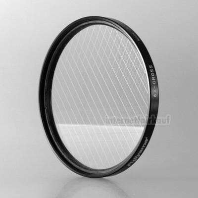 6x Sternfilter / 6-fach Cross Filter 62mm