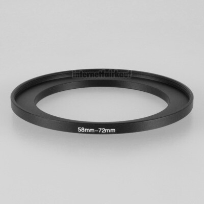 58-72mm Adapterring Filteradapter