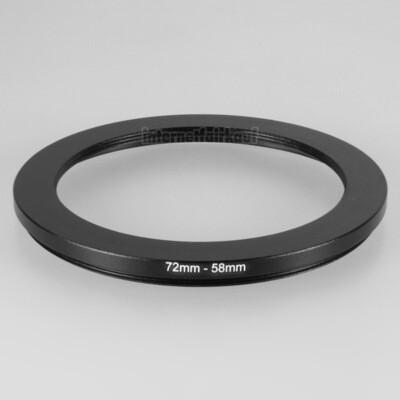 72-58mm Adapterring Filteradapter