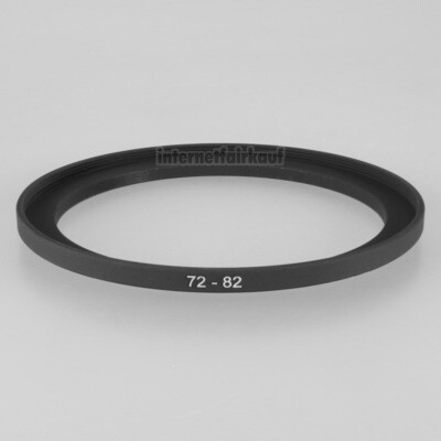 72-82mm Adapterring Filteradapter