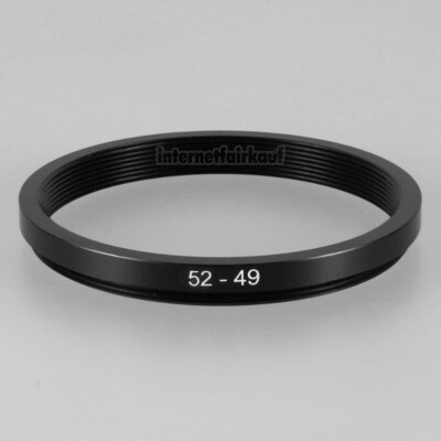 52-49mm Adapterring Filteradapter