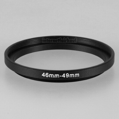 46-49mm Adapterring Filteradapter