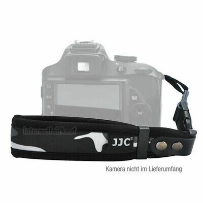 JJC ST-1YGR - camouflage, Handgelenk Trageband für Kameras