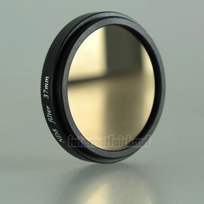 Graufilter ND8 37mm, schwarz