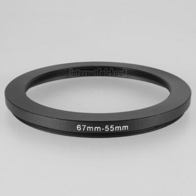 67-55mm Adapterring Filteradapter