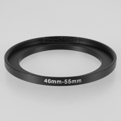 46-55mm Adapterring Filteradapter