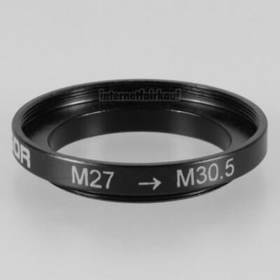 27-30.5mm Adapterring Filteradapter