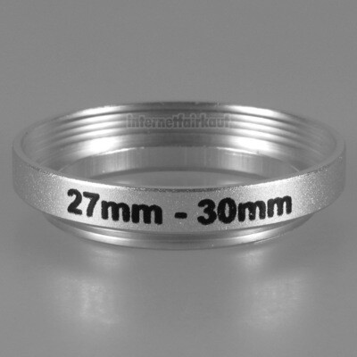 27-30mm Adapterring Filteradapter