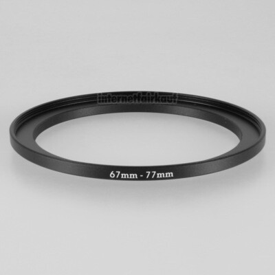 67-77mm Adapterring Filteradapter