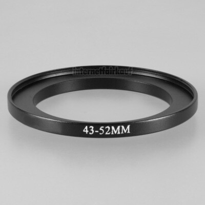 43-52mm Adapterring Filteradapter
