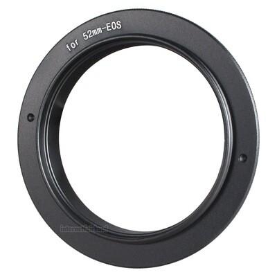 Umkehrring 52mm für Canon EOS