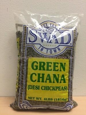 SWAD GREEN CHANA 4 LBS