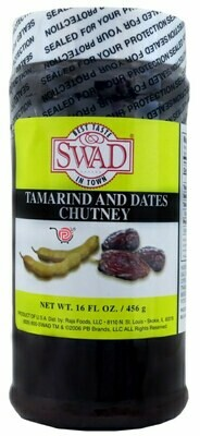 SWAD TAMARIND DATE CHUTNEY 16oz