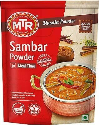 MTR SAMBAR POWDER  7 OZ