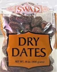 SWAD DRY DATES 400GM