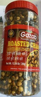 GAZAB ROASTED CHANA  (UNSALTED) 454G