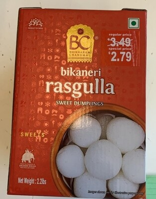 BC RASGULLA CAN 1 KG