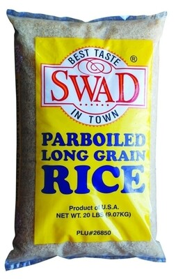 SWAD PARBOILED RICE  20lb