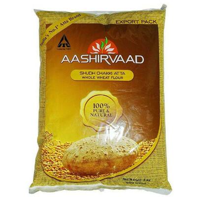 AASHIRVAAD CHAKKI ATTA 22LB