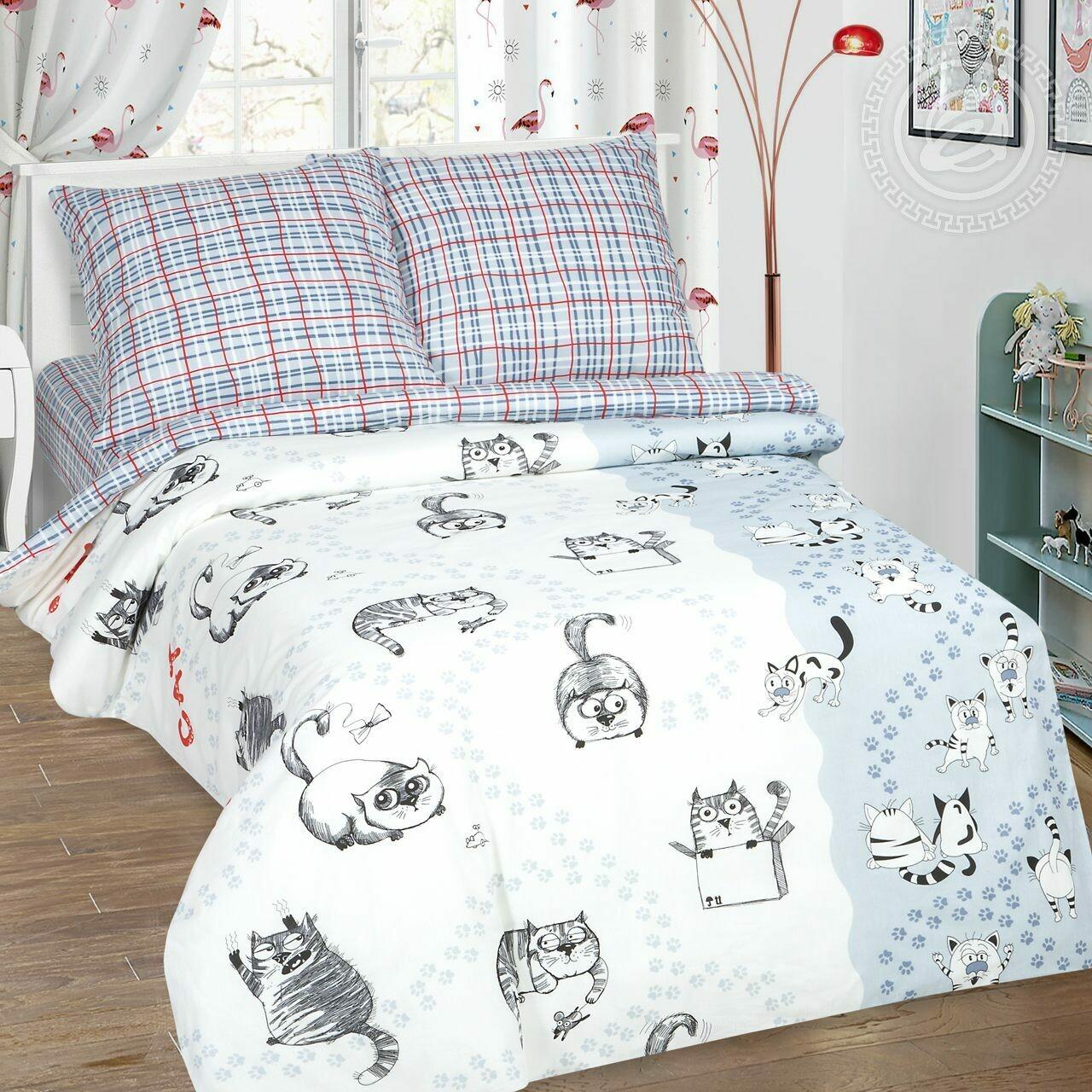 Комплект постельного белья из поплина Мэйсон