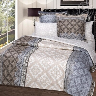 Комплект постельного белья из сатина Бурбон