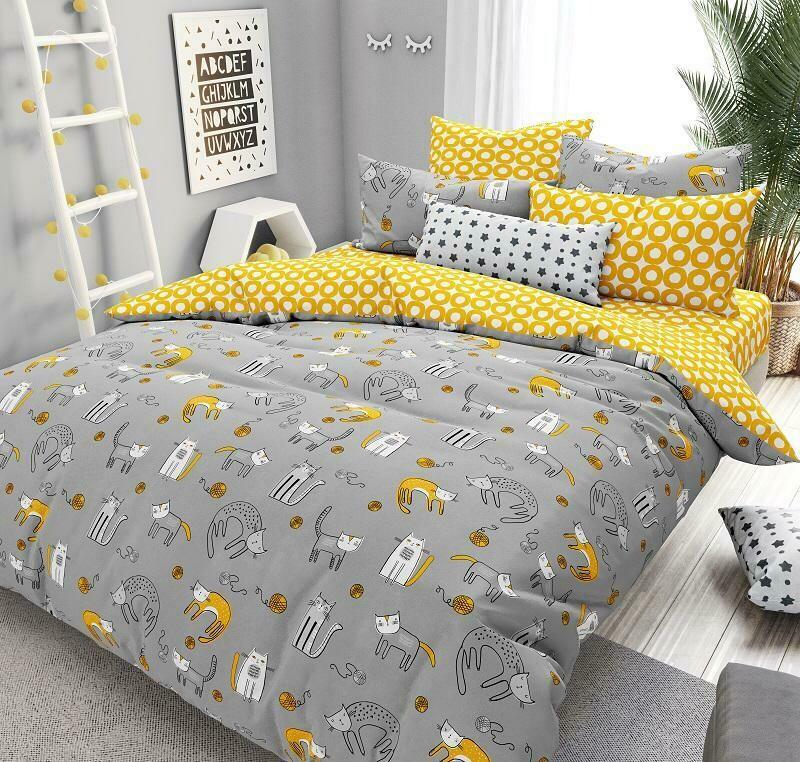 Комплект постельного белья из поплина  Цап-Царап