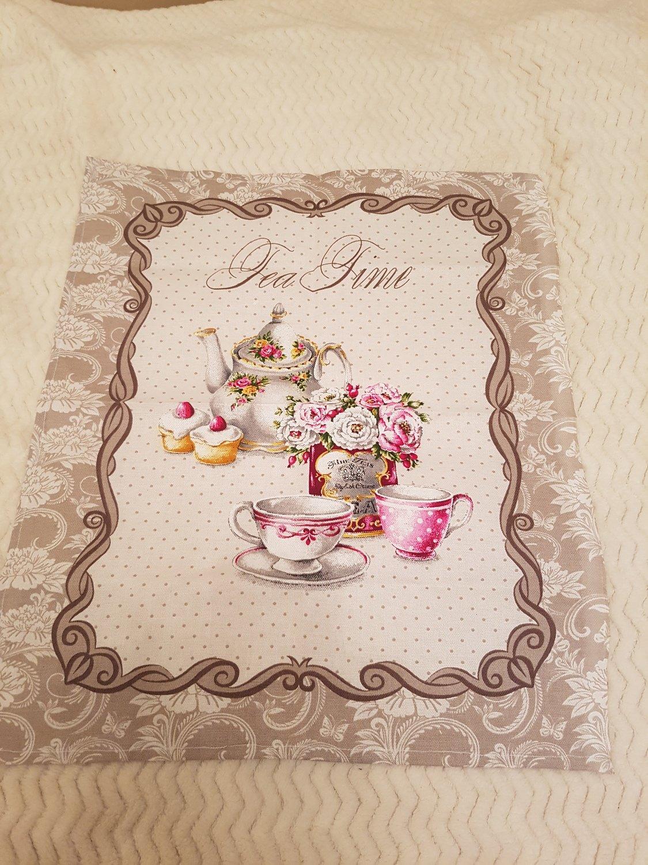 Полотенце из рогожки Чайная