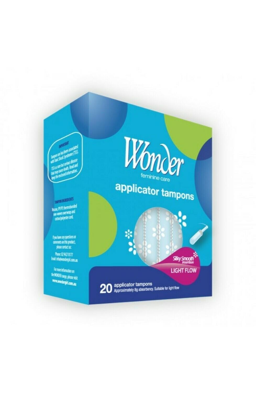 Regular Applicator Tampons 20pk [$0.25 per tampon]