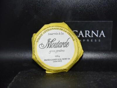 Tomme à la moutarde